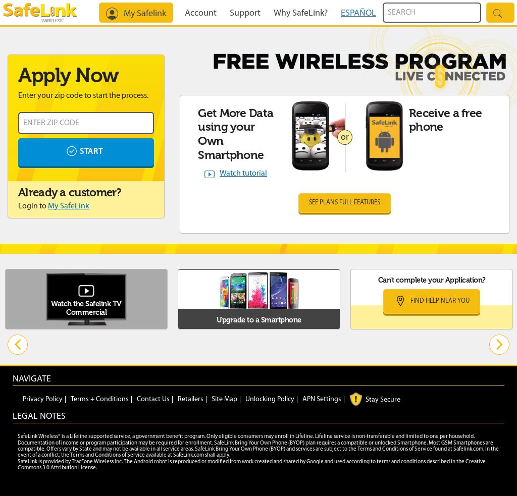Free Safelink Data