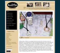 Madelyn pendants competitors revenue and employees owler company madelyn pendants website history aloadofball Gallery