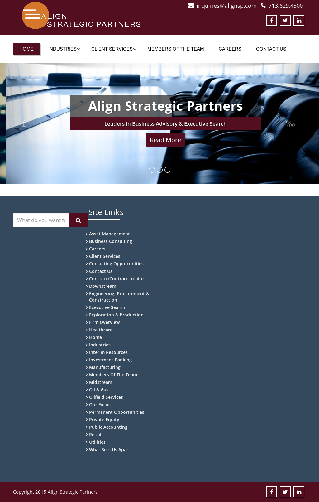 Align Strategic Partners Competitors, Revenue and Employees - Owler
