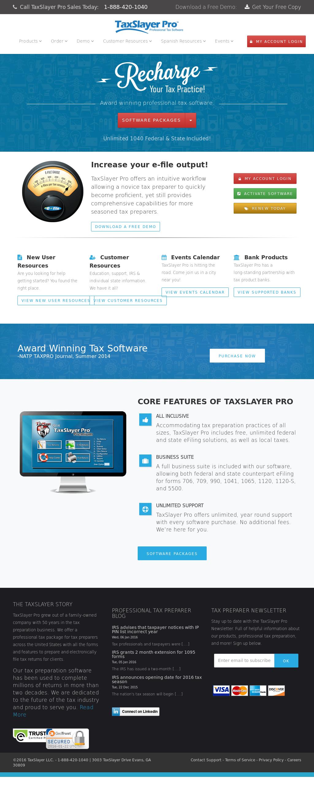 2016 Tax Software
