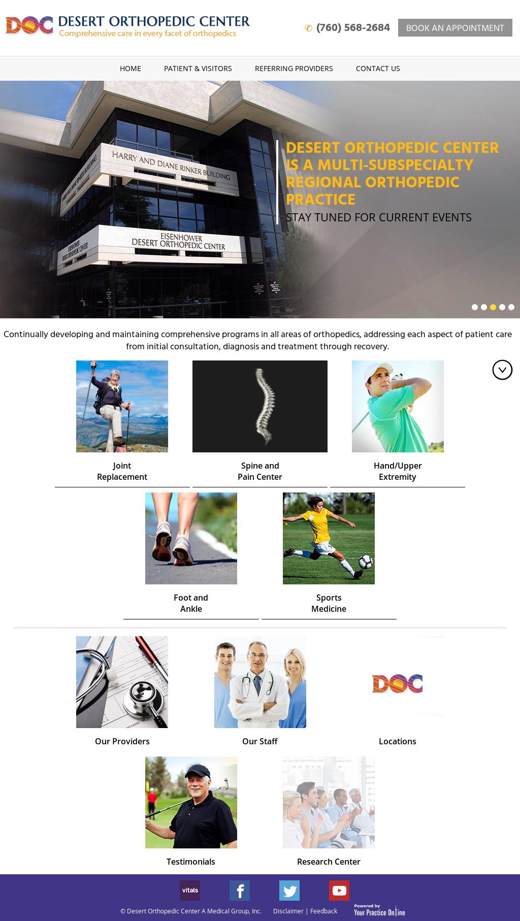 Eisenhower Desert Orthopedic Center Ms Lac Competitors Revenue And