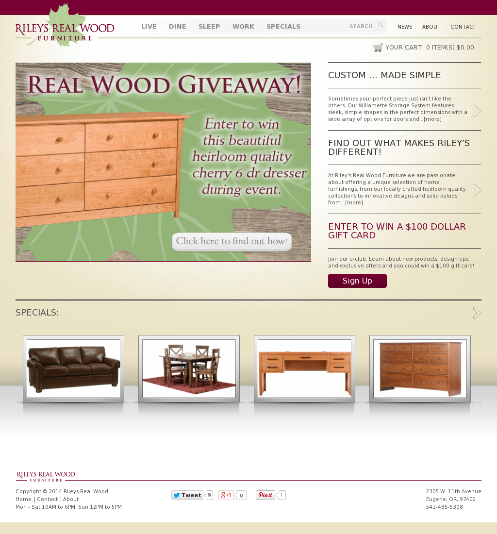 Rileys Real Wood Furniture Compeors Revenue And