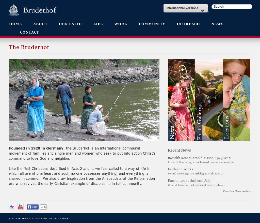 Bruderhof News