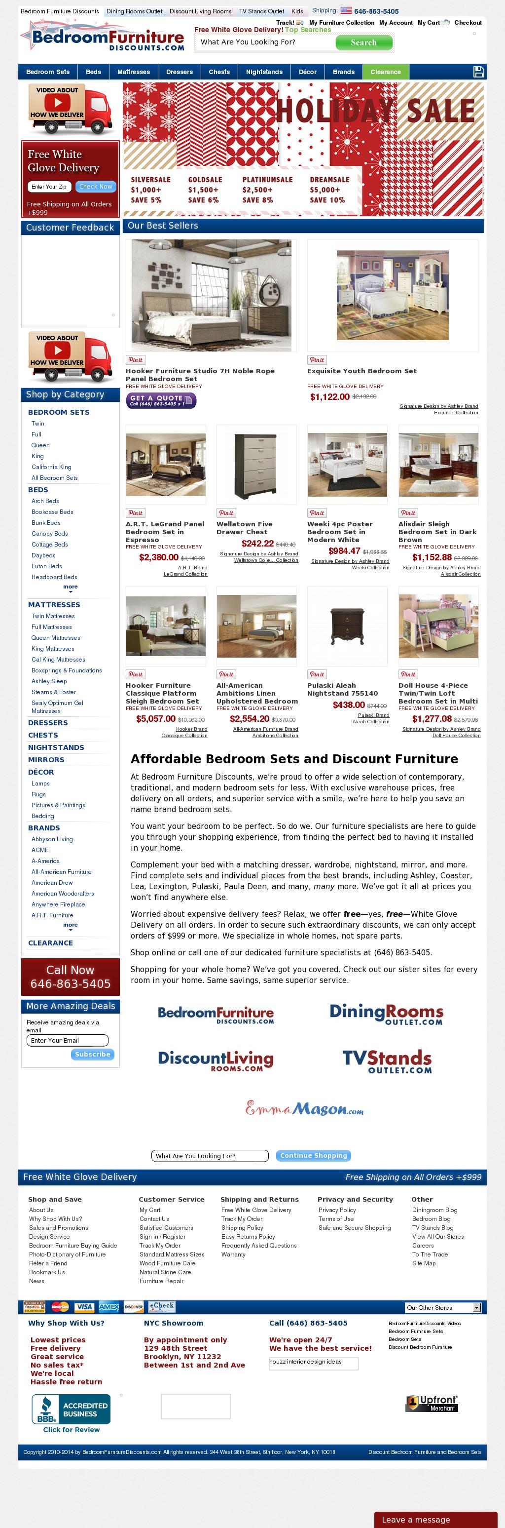 Bedroom Furniture Discounts Competitors, Revenue and ...