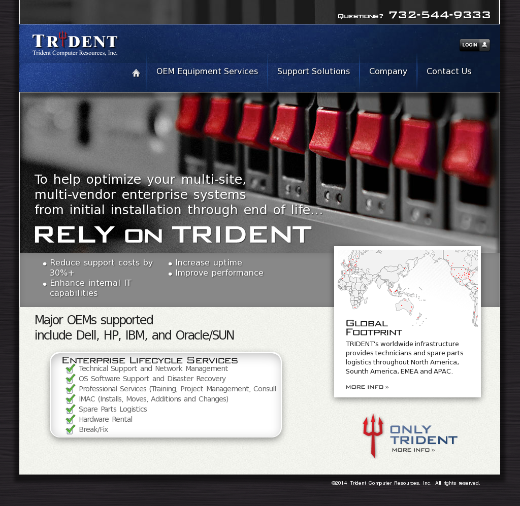 Trident Computer Resources Competitors, Revenue and