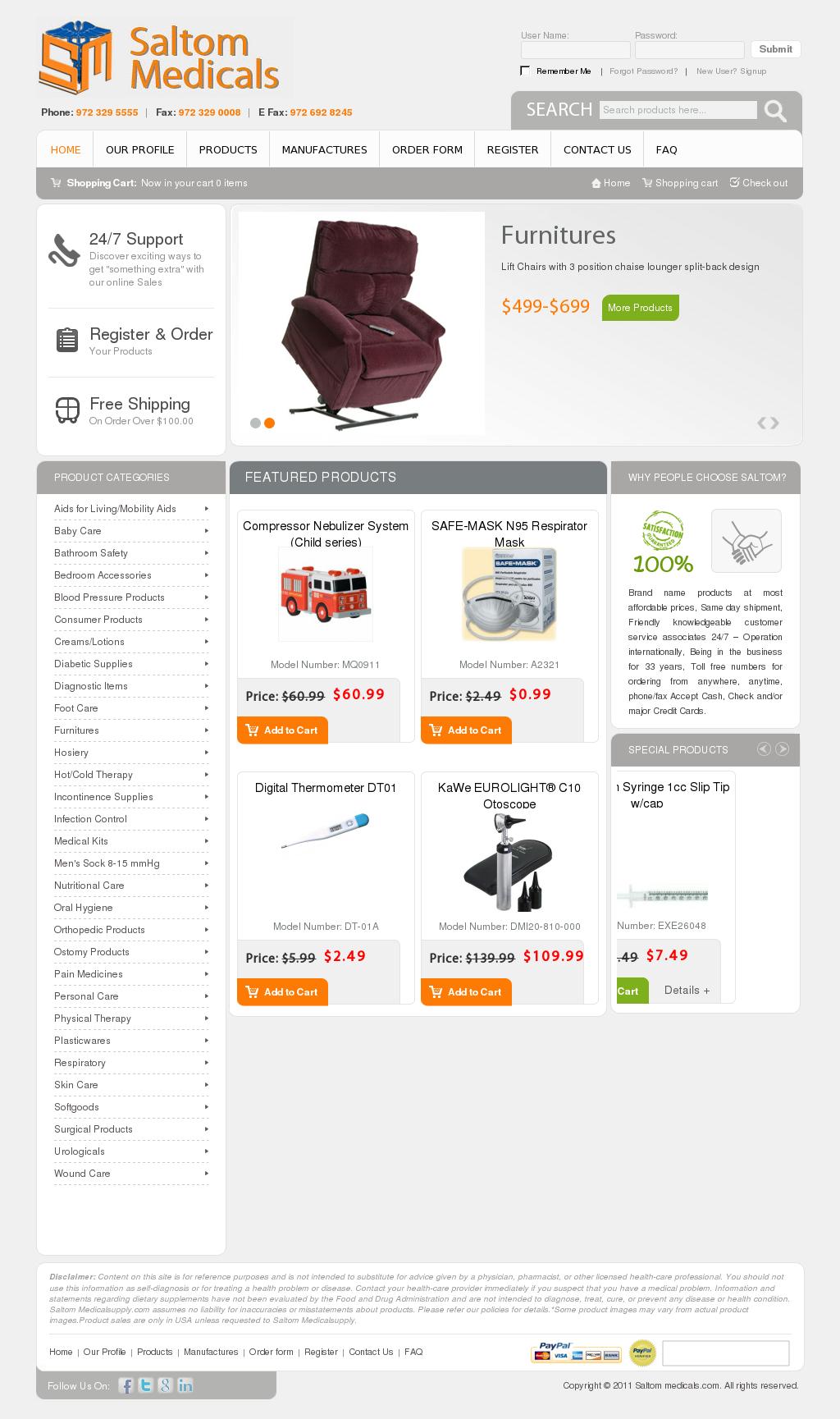 Saltom Medical Eqpt Trading Competitors, Revenue and