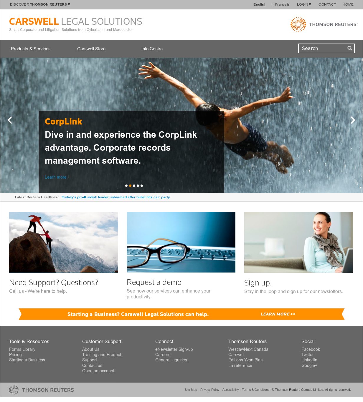 Carswell Legal Solutions Competitors, Revenue and Employees