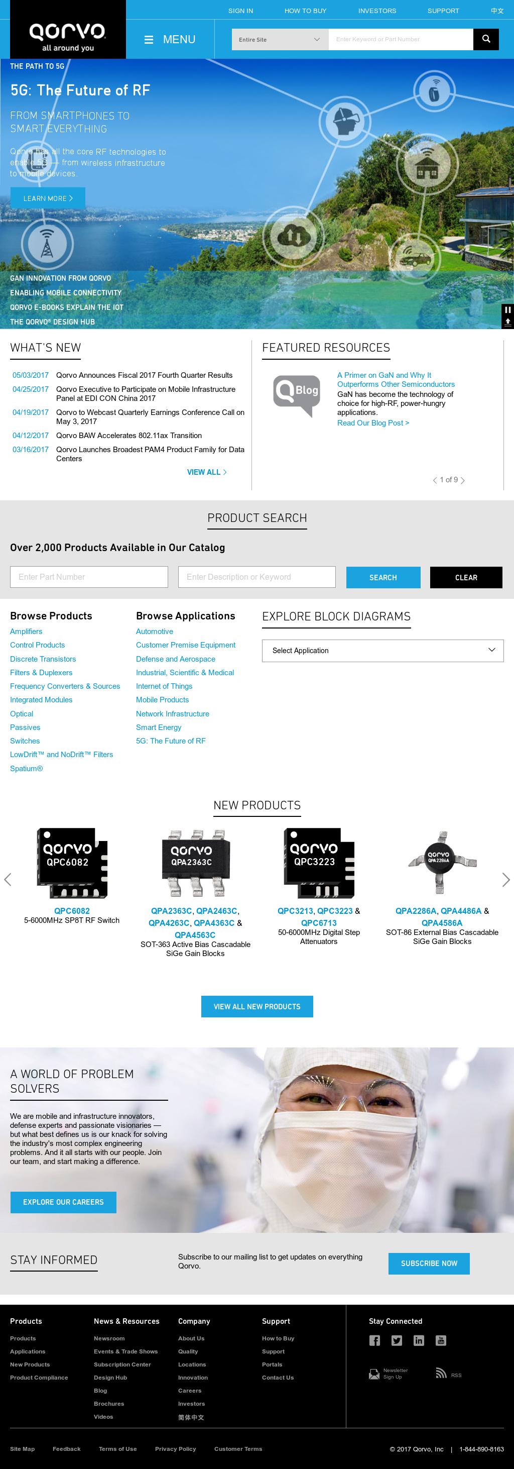 Qorvo Competitors, Revenue and Employees - Owler Company Profile