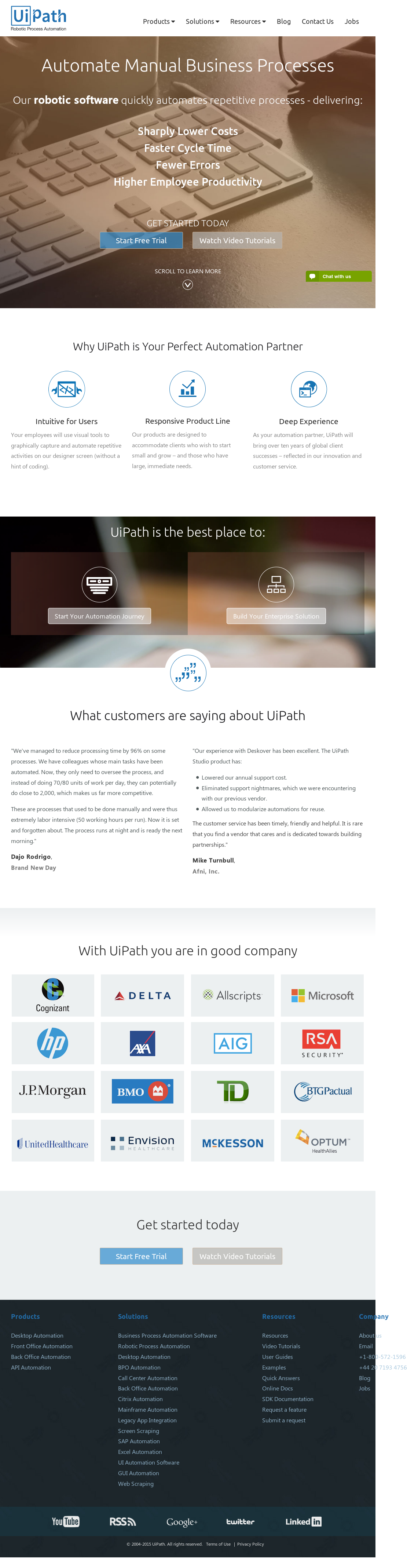 UiPath Competitors, Revenue and Employees - Owler Company Profile