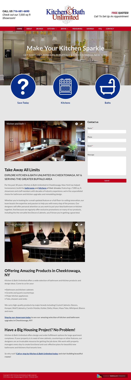 Kitchen U0026 Bath Unlimited Website History