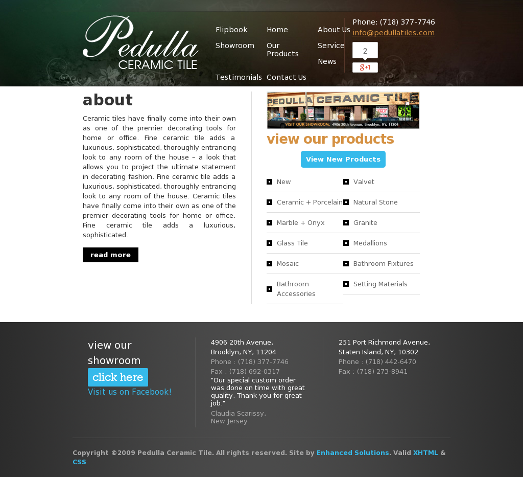 Pedulla Ceramic Tiles Competitors, Revenue and Employees - Owler ...