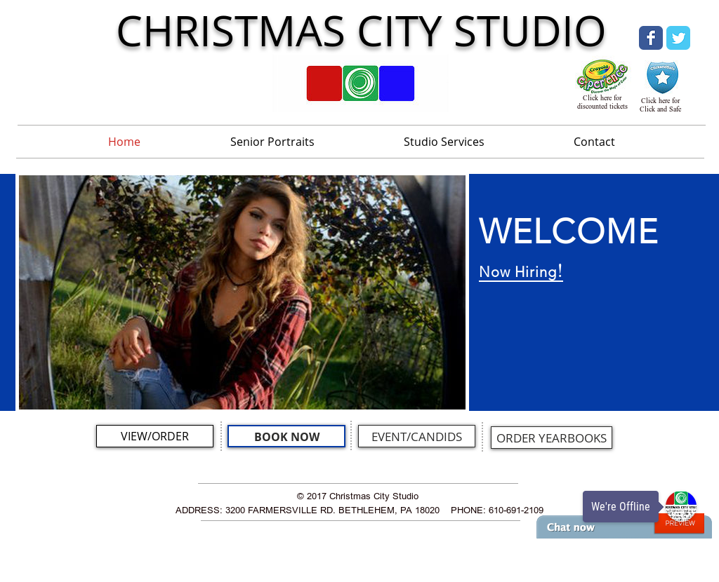 christmas city studio website history - Christmas City Studios