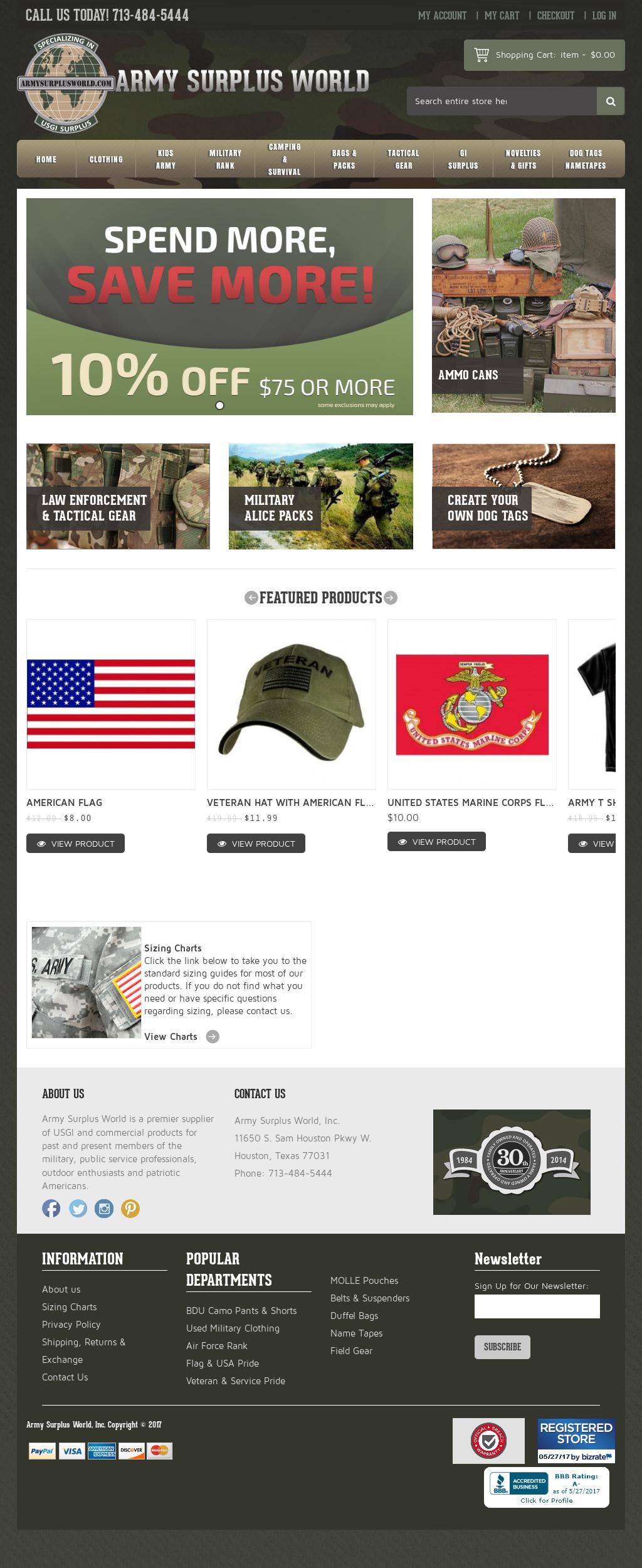 Armysurplusworld Competitors, Revenue and Employees - Owler