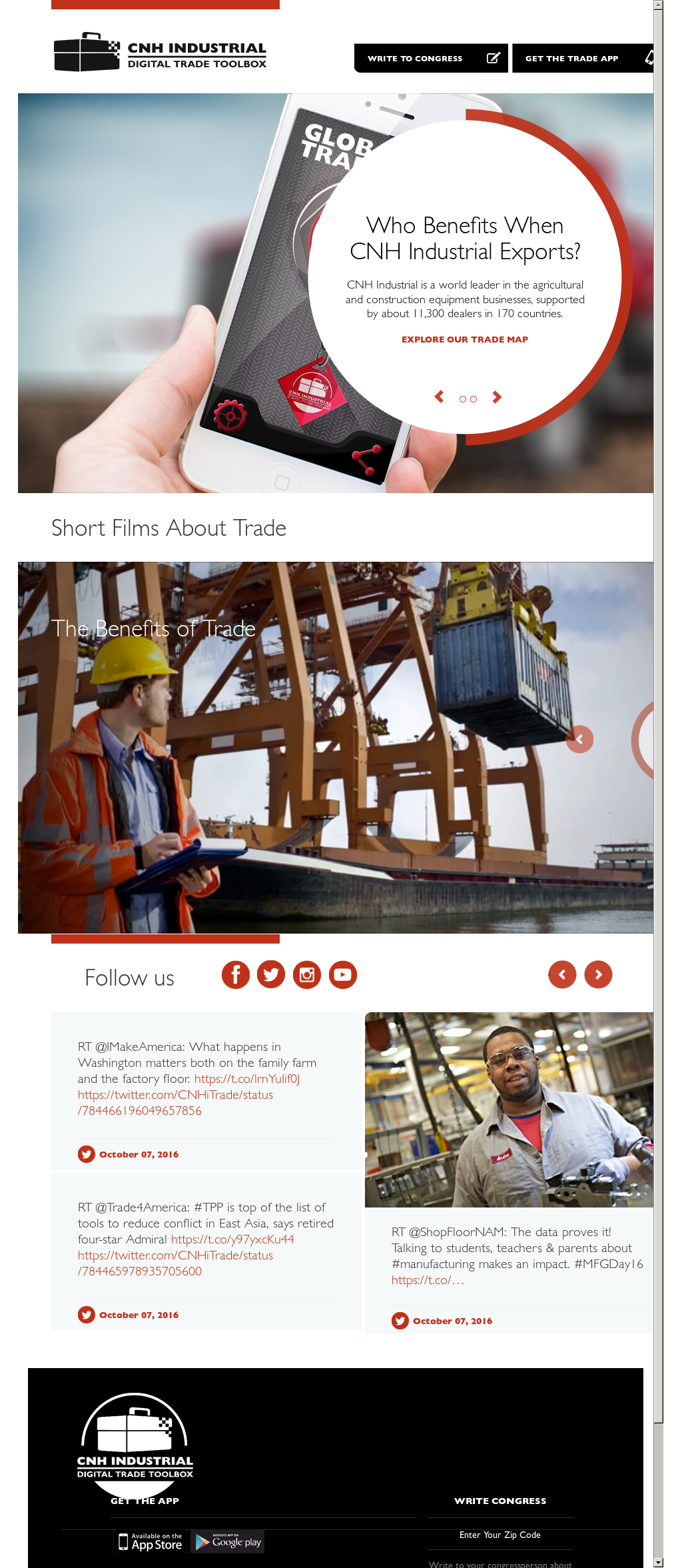 Sites with magazines on industry, agriculture, construction: a selection of sites