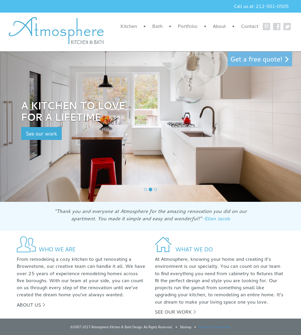 Atmoshpere Kitchen & Bath Competitors, Revenue and Employees - Owler ...