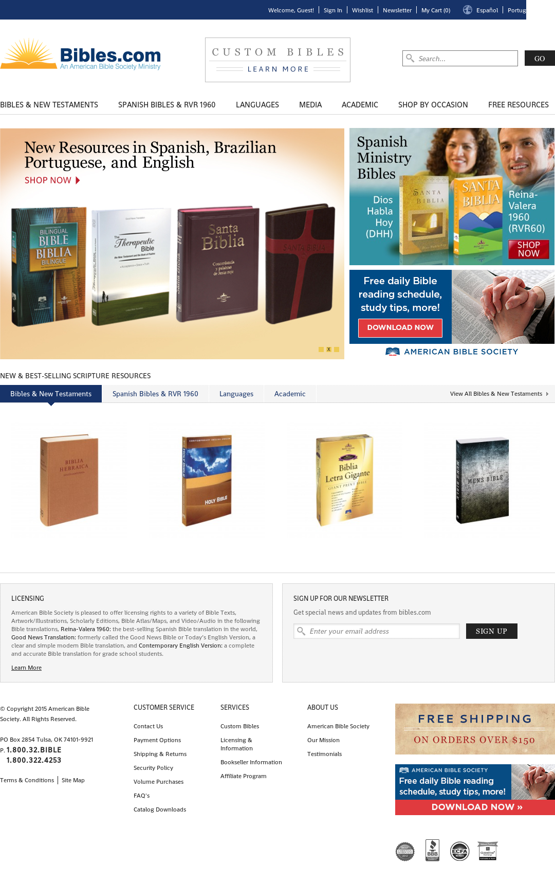 Bibles Competitors, Revenue and Employees - Owler Company