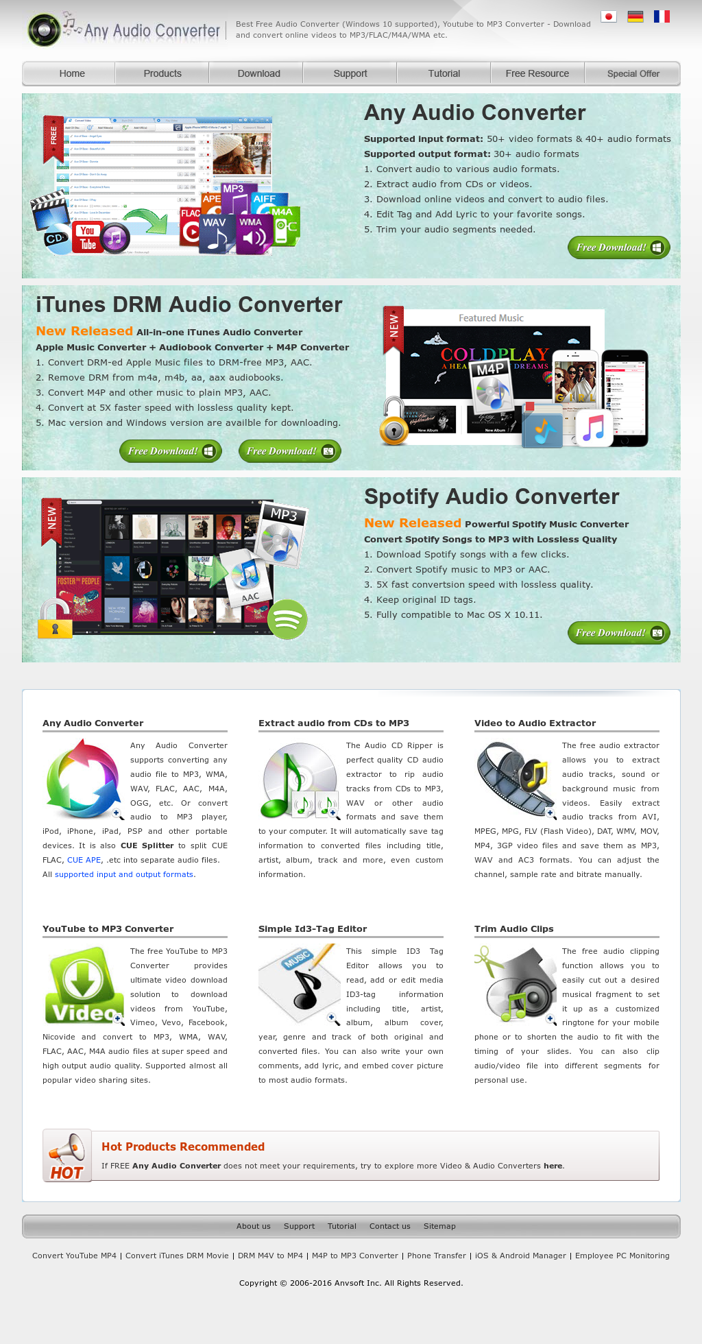 Any Audio Converter Competitors, Revenue and Employees