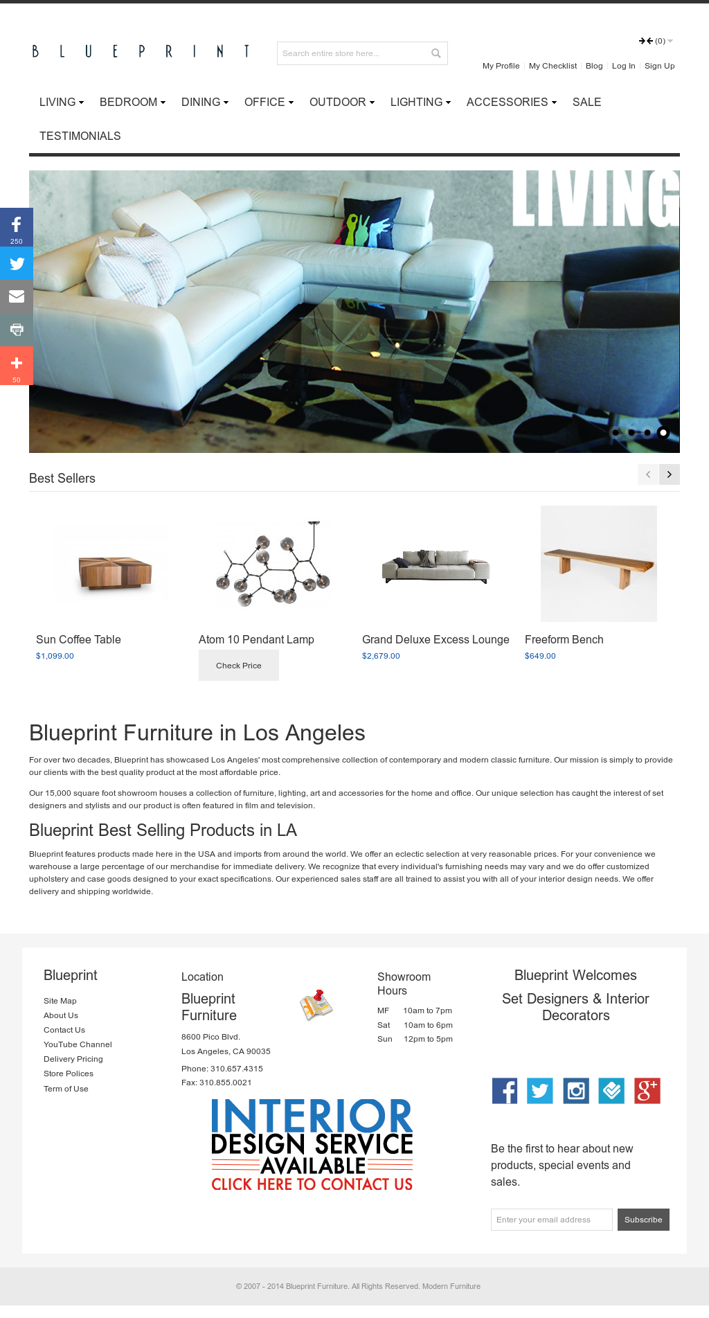Blueprint Furniture Competitors Revenue And Employees Owler