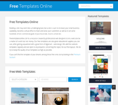 Free Templates Online Competitors Revenue And Employees