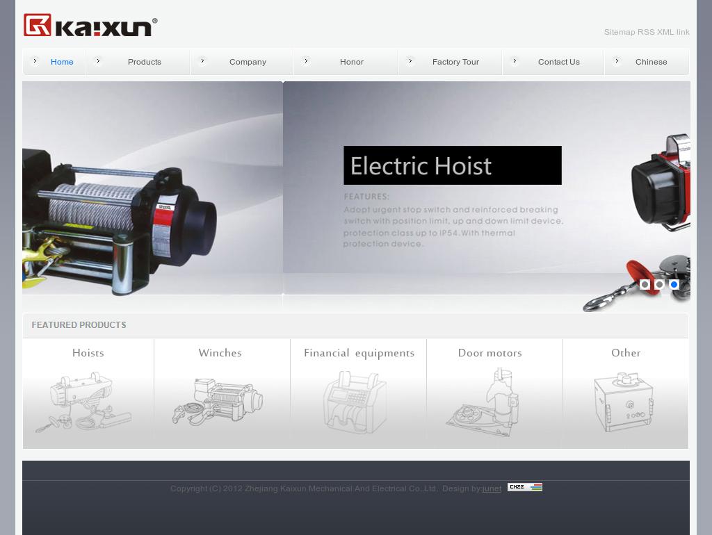 Zhejiang Kaixun Mechanical And Electrical Compeors ... on
