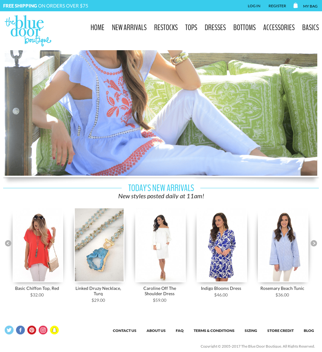 The Blue Door Boutique website history  sc 1 st  Owler & The Blue Door Boutique Competitors Revenue and Employees - Owler ...