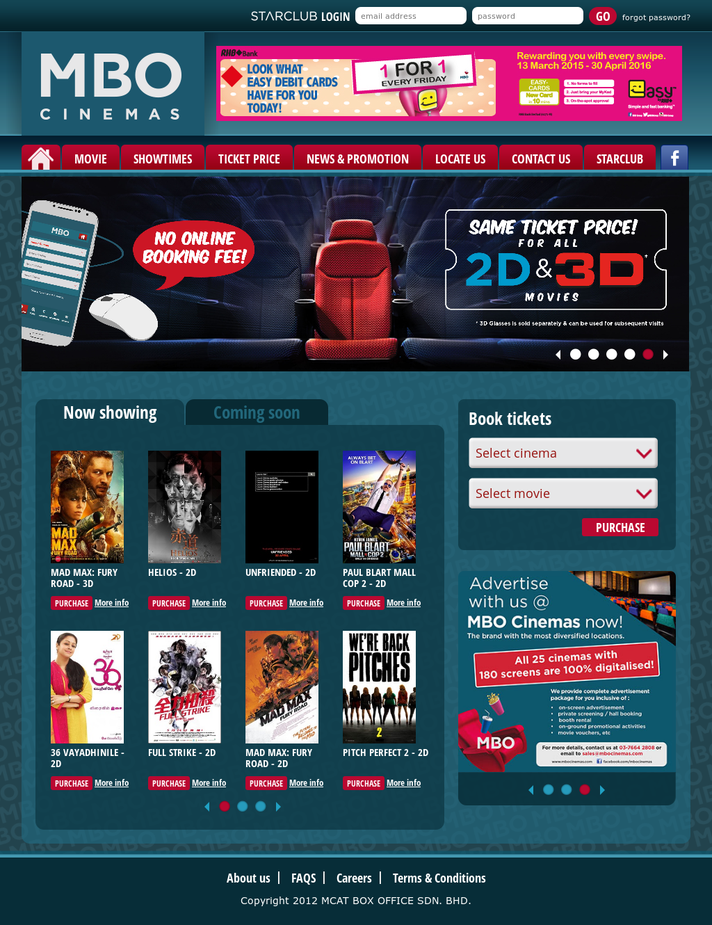 Owler Reports Mcat Box Office Mbo Cinemas Invests Rm22 Mln In