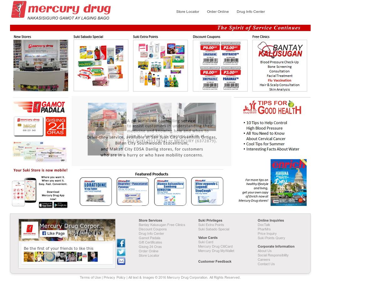 mercury drug store logo