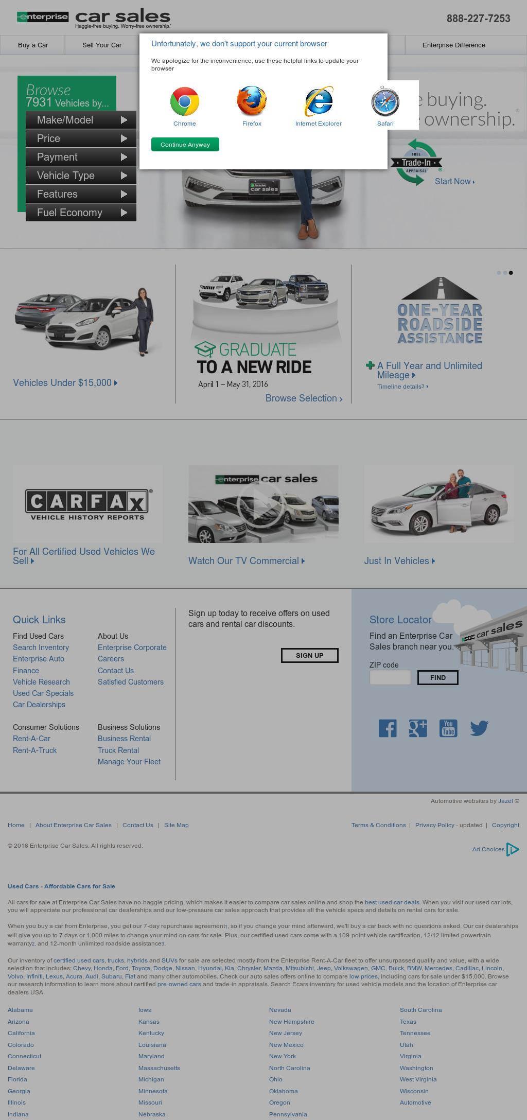 Enterprise Cars For Sale >> Enterprise Car Sales Competitors Revenue And Employees Owler
