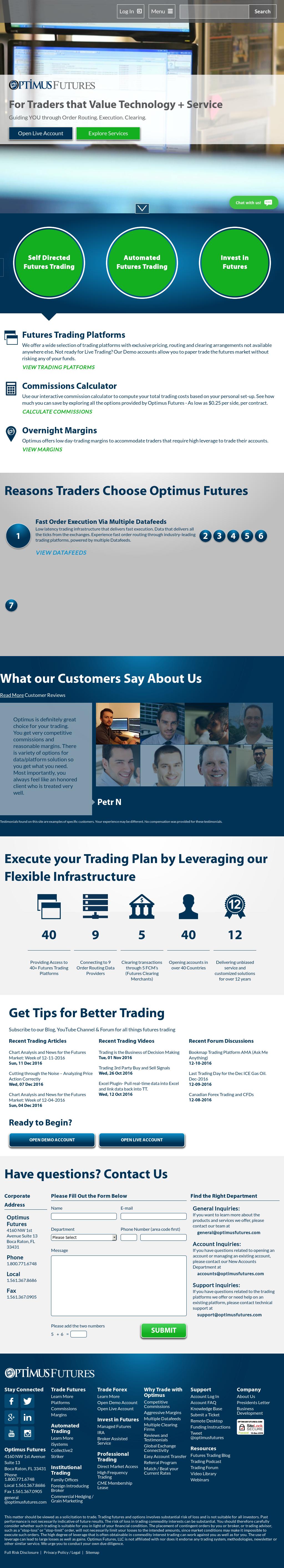 Owler Reports - Optimus Trading Group Blog Rithmic Trader