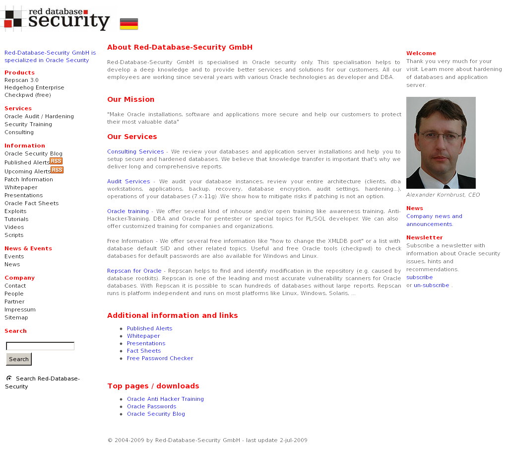 Red Database Security Competitors Revenue And Employees Owler Auditing Company Profile