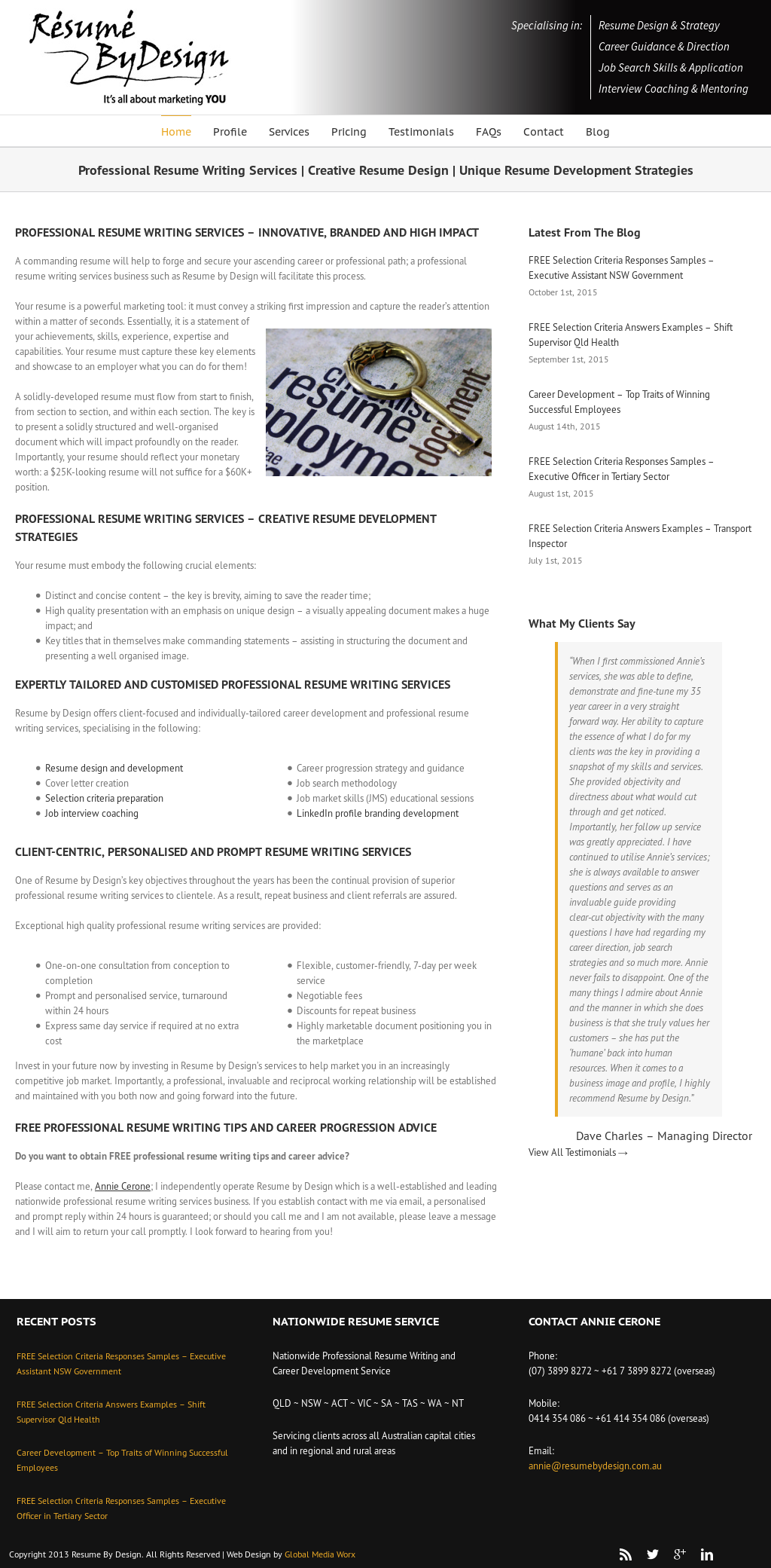 Resume By Design Competitors, Revenue and Employees - Owler Company ...