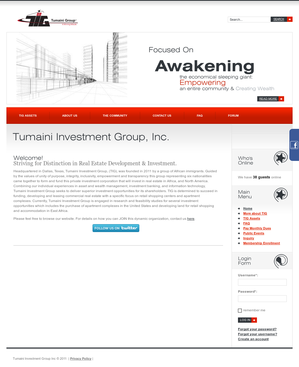 Tumaini Investment Group Competitors Revenue And