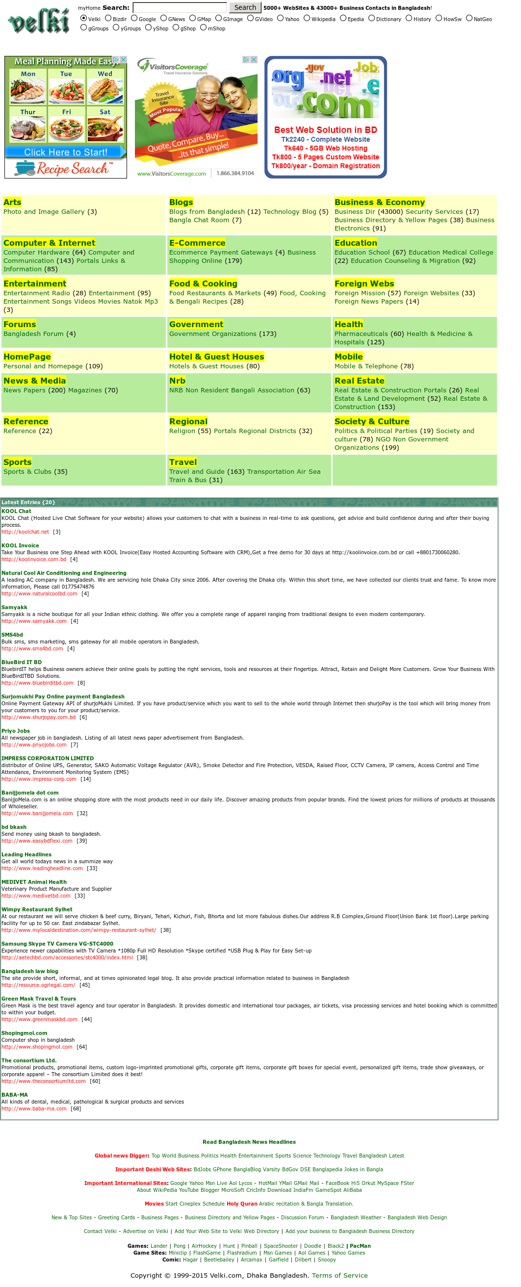 Velki com, Dhaka Bangladesh  Terms Of Service Competitors, Revenue