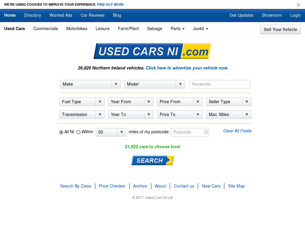 Used Cars Ni Competitors Revenue And Employees Owler Company Profile