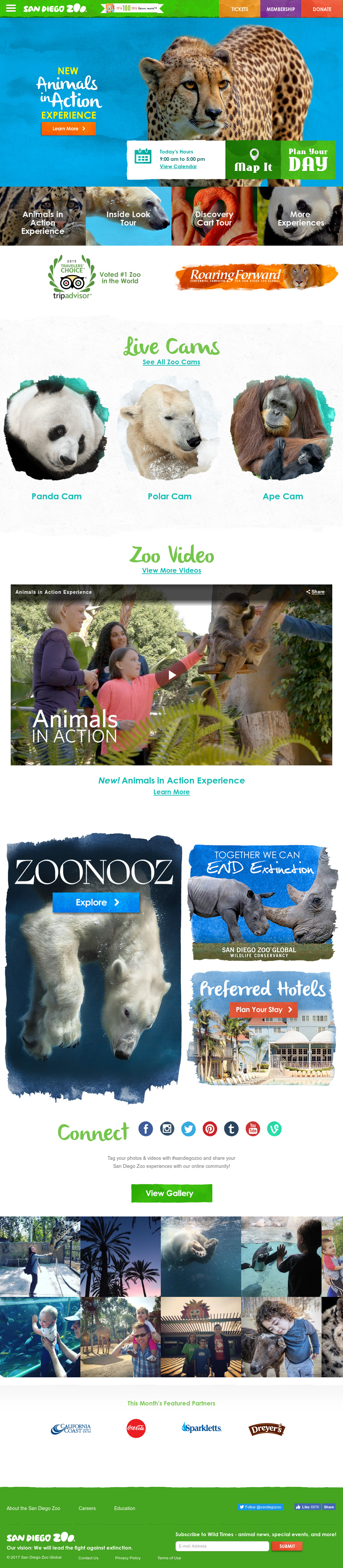 San Diego Zoo Competitors, Revenue and Employees - Owler
