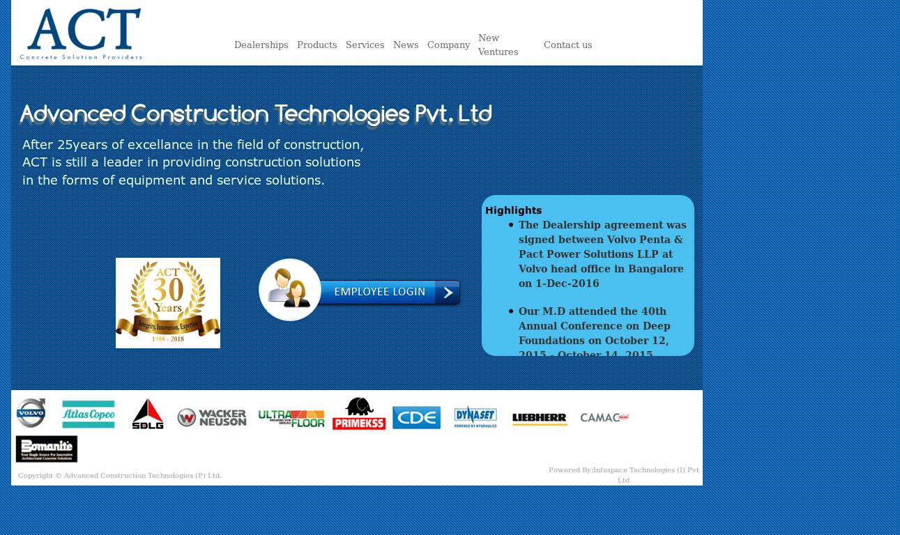Advanced Construction Technologies Competitors, Revenue and