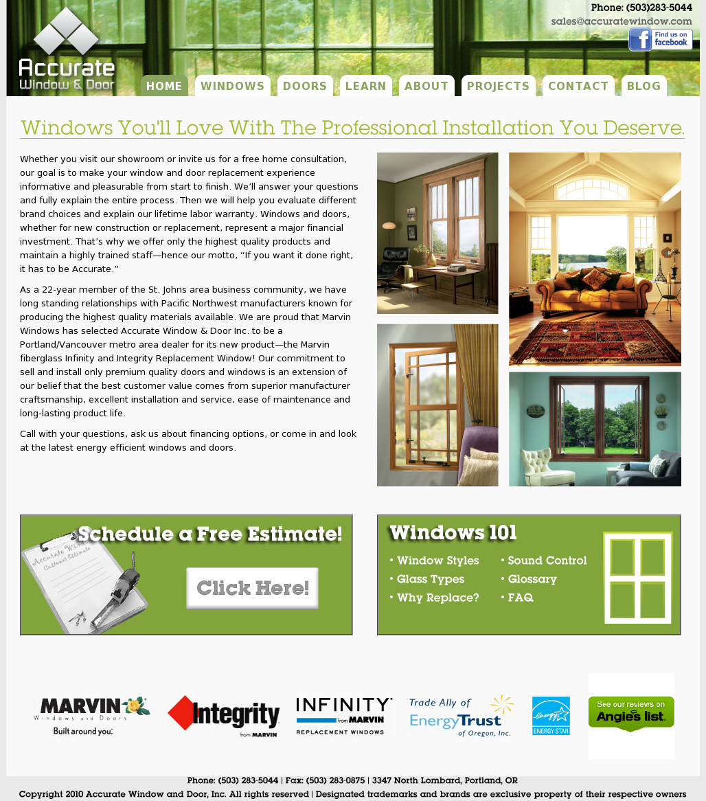 Accurate Window And Door Competitors, Revenue And Employees   Owler Company  Profile