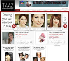 your virtual makeover at taaz