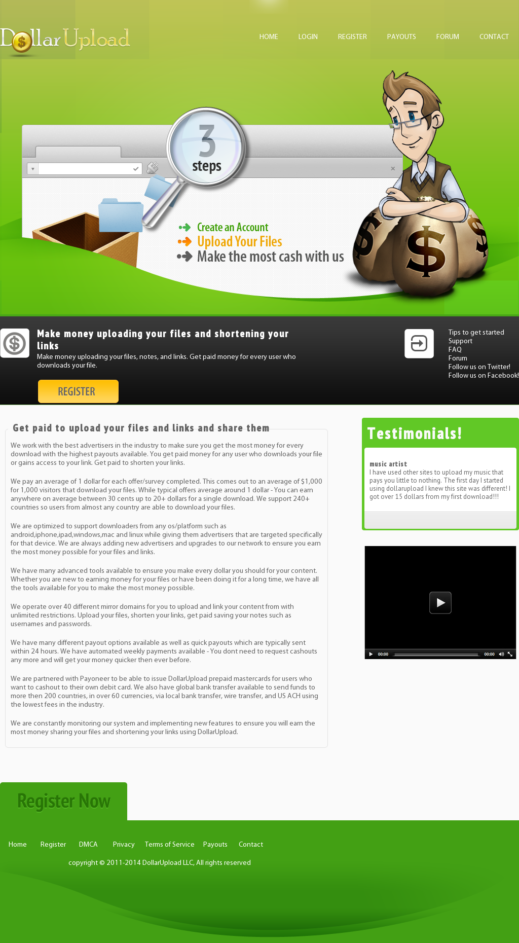 Owler Reports - DollarUpload Blog Get paid to share links