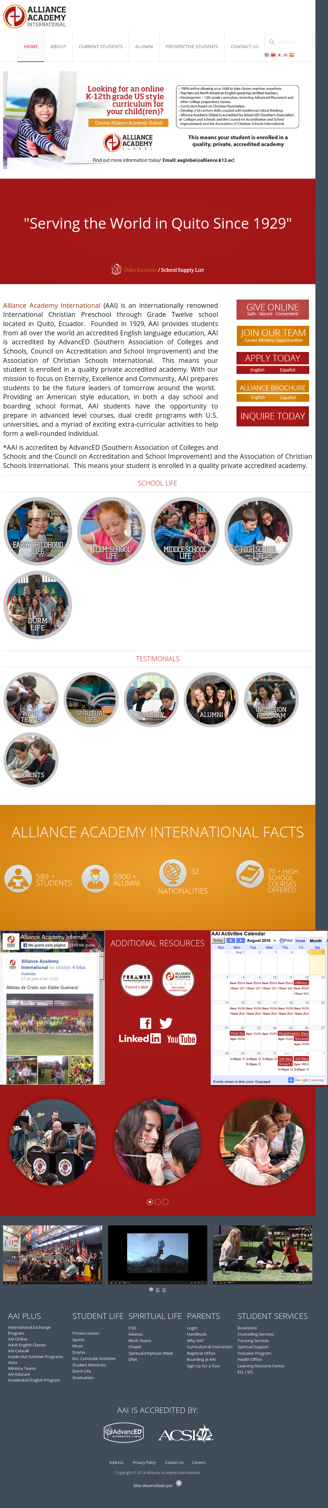 Alliance Academy International Competitors, Revenue and