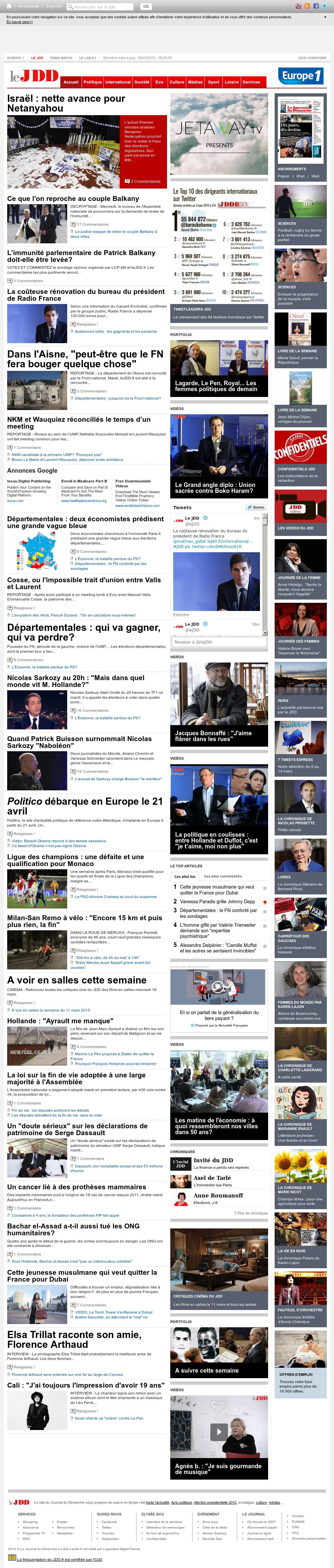 Le Journal Du Dimanche Competitors Revenue And Employees