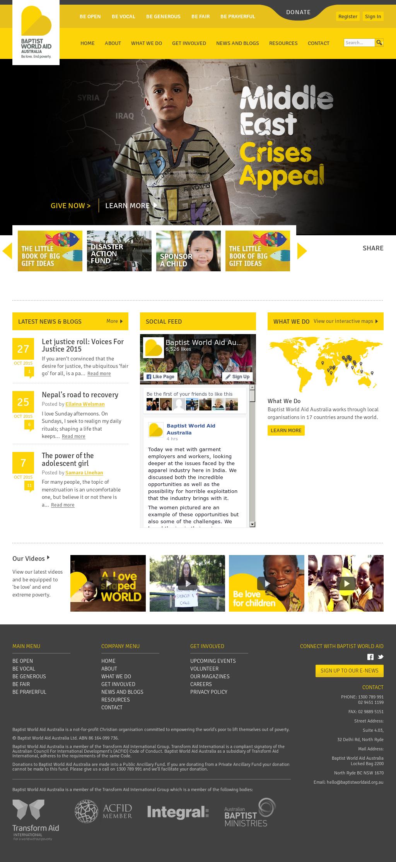 Jim Falk Motors >> Baptist World Aid Australia Competitors, Revenue and ...