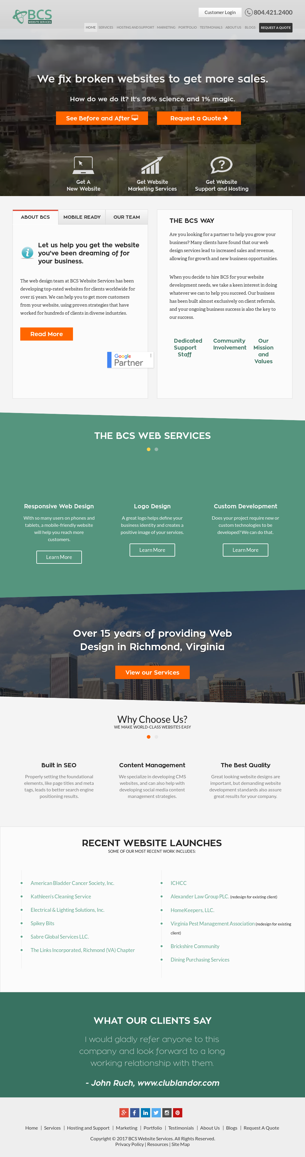 Bcs Website Services Competitors, Revenue and Employees