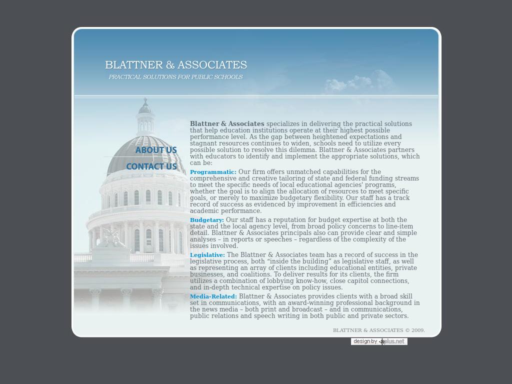 Blattner & Associates Competitors, Revenue and Employees