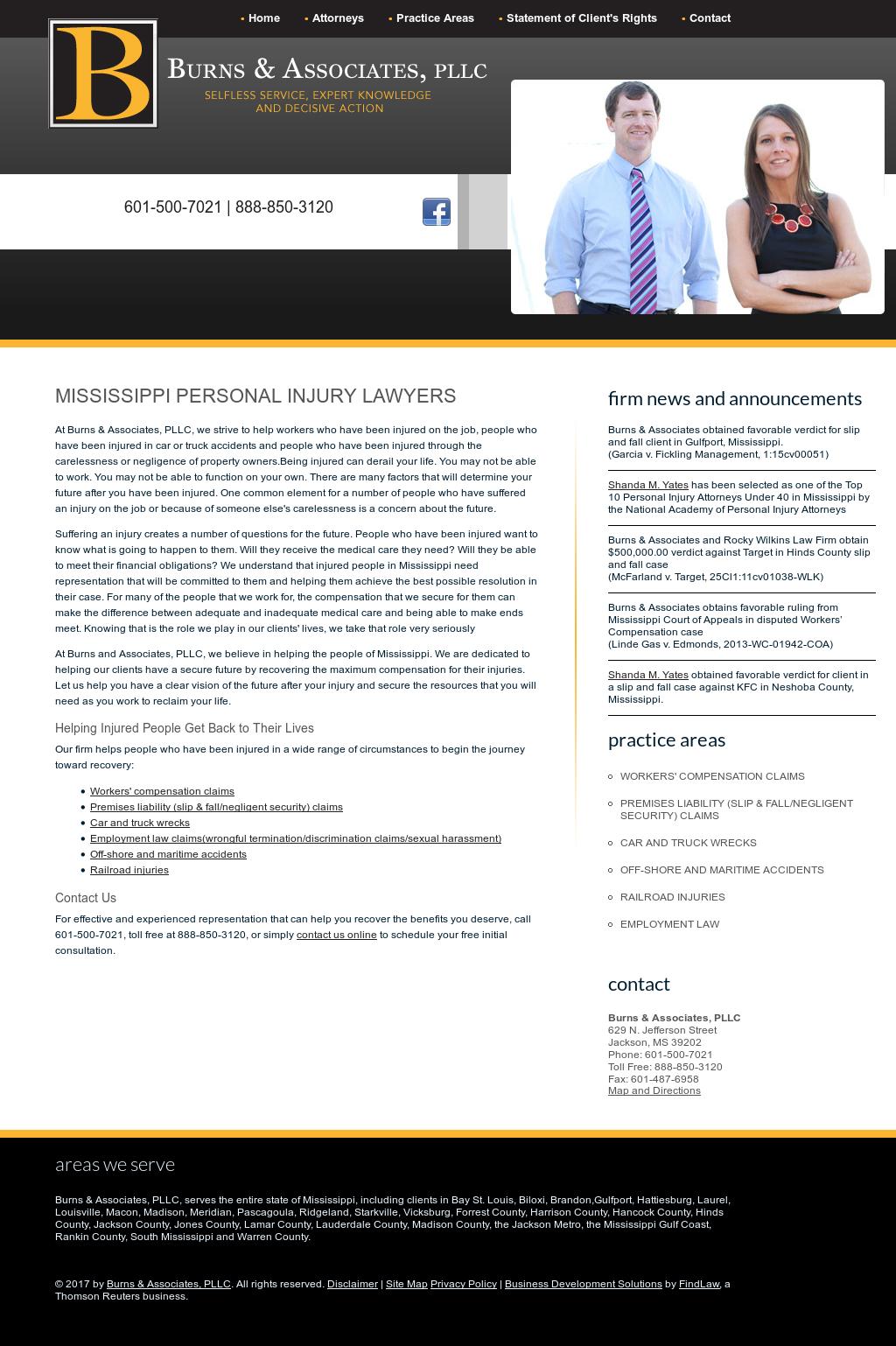 Burns & Associates, Pllc Competitors, Revenue and Employees