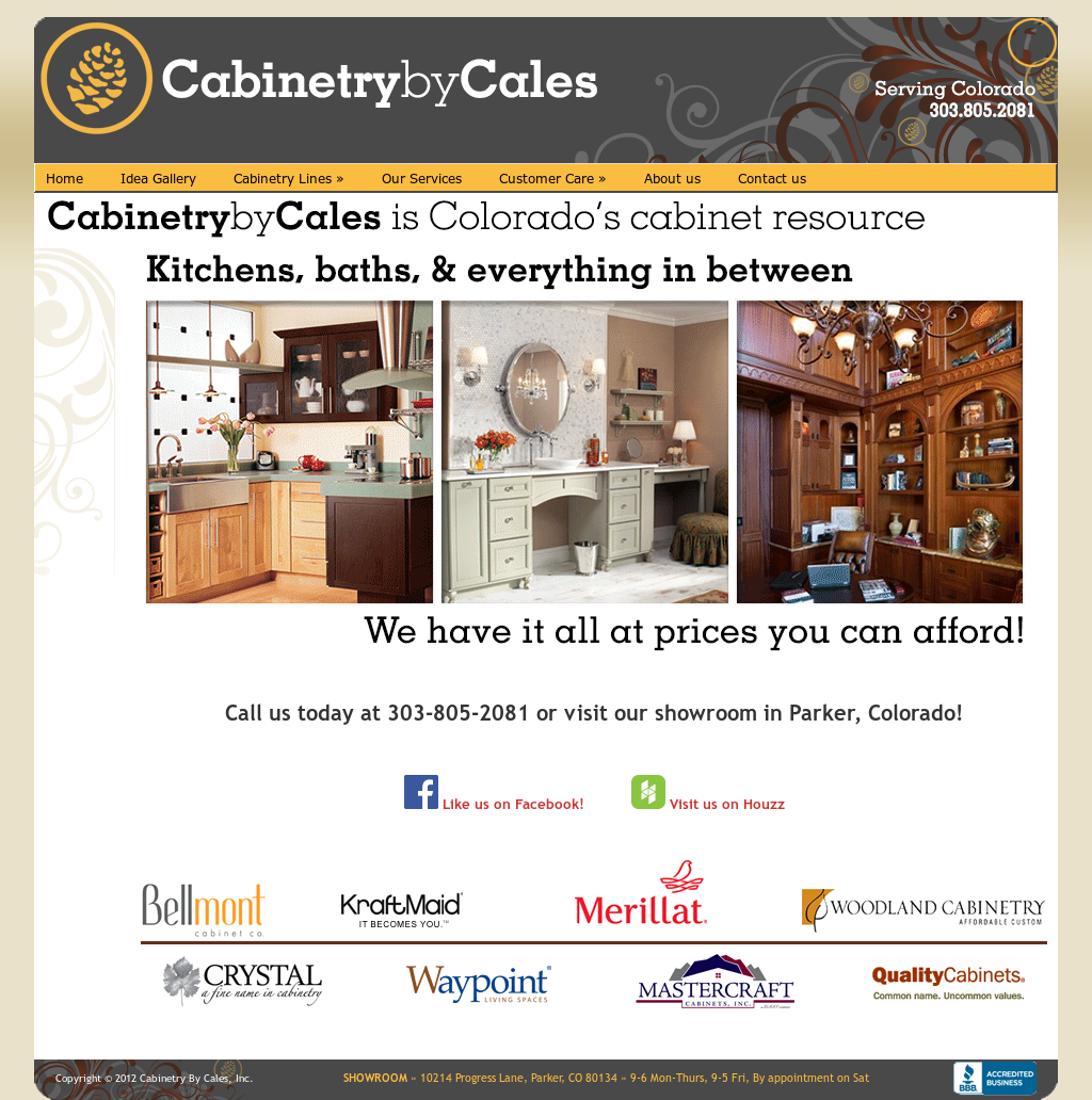 Cabinetry By Cales Competitors Revenue And Employees