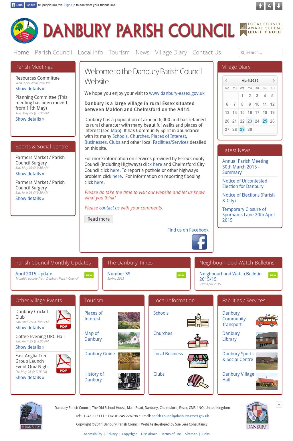 Danbury Parish Council Competitors, Revenue and Employees - Owler