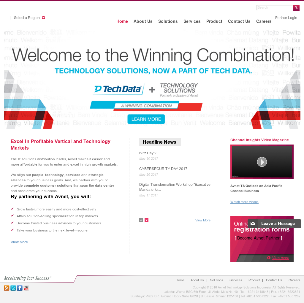 Avnet Datamation Solutions Competitors, Revenue and
