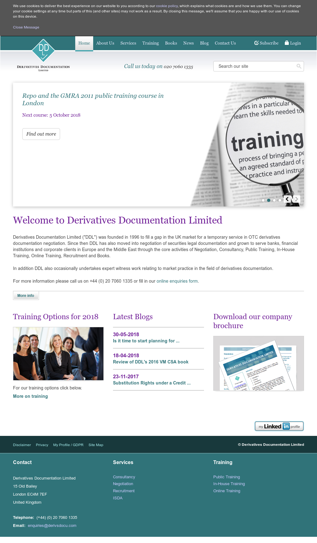 Derivatives Documentation Competitors, Revenue and Employees