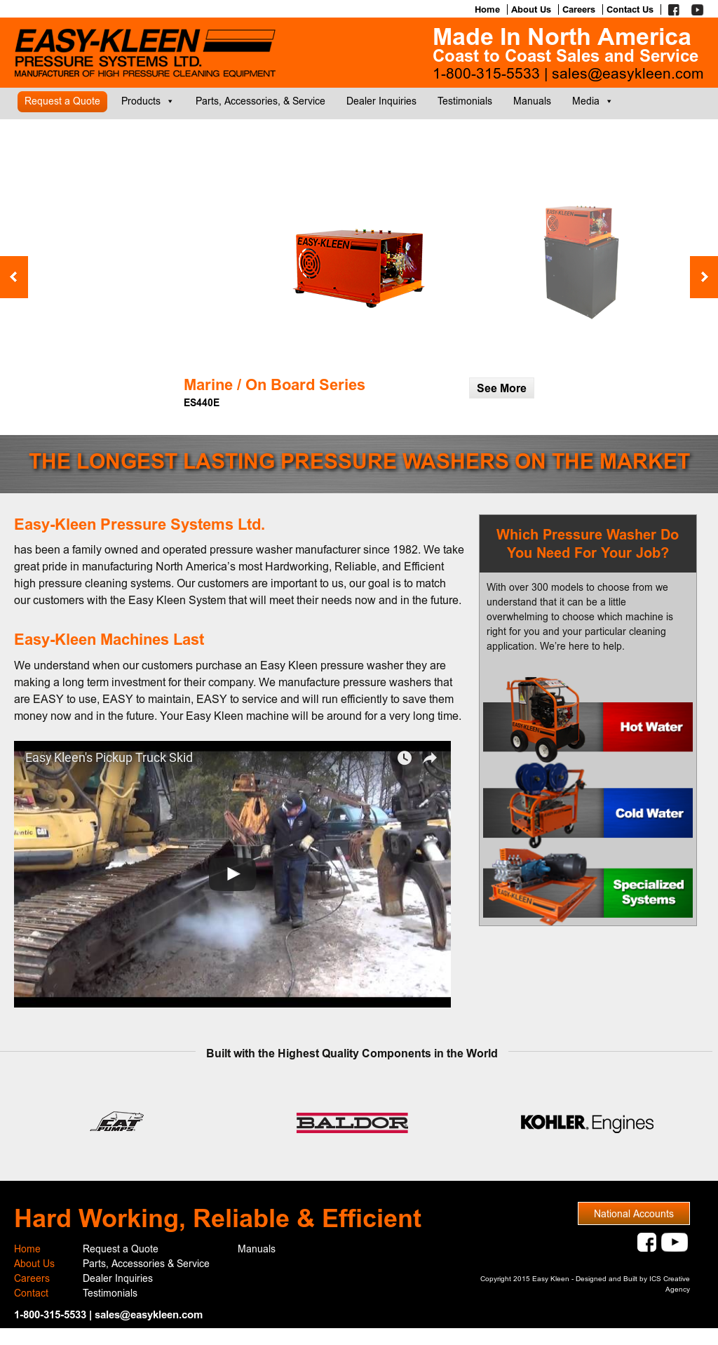 Easy Kleen Pressure Systems Compeors Revenue And Employees Owler Company Profile